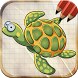 Draw Sea Ocean Animals by Art Guides Company
