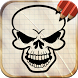 Draw Skull Tattoos by Art Guides Company