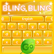 GO Keyboard Bling Bling by Keyboard Themes