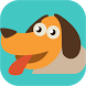 Cute baby Puppy - Skate Chase by Pixel Mania