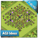 Farming Base Maps Town Hall 9 by AGS Ideas