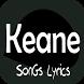 Keane Lyrics by Maroendaz
