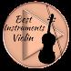 Best Violin Instruments by MANDIRI MUSIC