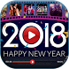 Happy New Year Video Maker - Video Editor 2018