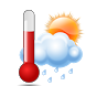 Forecast Thermometer by David Savall