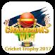 Champion Trophy Schedule 2017 by Mind Apps Studio