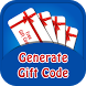 Free Gift Codes Generator by Free Cash Make Money