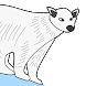 Hungry Polar Bear by Mappli