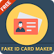 Fake ID card maker Maker and generator by Prank App Studio