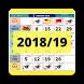 Malaysia Calendar 2018/2019