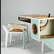 Desk Design by Rzapk