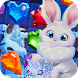 Bunny's Frozen Jewels: Match 3 by Puzzle Games - VascoGames
