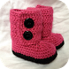 Crochet Baby Boots by afenheim