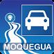 Mapa vial de Moquegua - Perú by DePeru.com