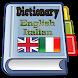 English Italian Dictionary by Pasawahan App Maker