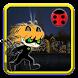 Chibi Ninja Hero Black Cat Dom by Jungle studio