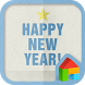 Happy new year★ dodol theme by Camp Mobile for dodol theme
