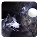 Wolf and Moon Live Wallpaper by Dynamic Live Wallpapers