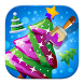 Coloring Christmas Tree Games by R27Games