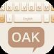 Oak Theme&Emoji Keyboard by Best Keyboard Theme Design