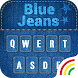 Blue Jeans Keyboard Theme by Keyboard Arts Themes