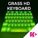 Keyboard Grass HD by BestKeyboardThemes