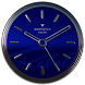 Blue Rebel HD Analog Clock Widget by SaintBerlin