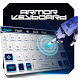 white machine robot ai keyboard future tech by Keyboard Theme Factory
