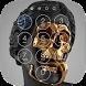 Skull Skeleton Lock Screen by Kwiek Entertainment