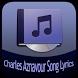 Charles Aznavour Song&Lyrics by Rubiyem Studio