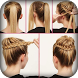 Girl Hair Style Step by Step - Hairstyle Tutorials by Android Hunt