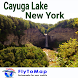Cayuga Lake Gps Map Navigator by FLYTOMAP INC