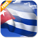 3D Cuba Flag Live Wallpaper by App4Joy