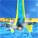 Real Super Hero Water Slide Uphill Amusement Park by Appitix