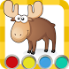 Сoloring book Kids Paint by BooksApp