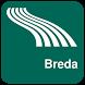 Breda Map offline by iniCall.com