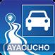 Mapa vial de Ayacucho - Perú by DePeru.com