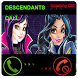 Fake Call From Descendants by Lightgames pro
