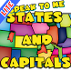 US States and Capitals Lite by Ron Kirkland