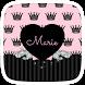 Pink Princess Crown Theme by yuqingtheme