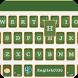 Blackboard theme EmojiKeyboard by Colorful Keyboard Theme Designer