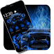Blue Racing Car Theme by liupeng