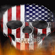 USA Fire Skull Live Wallpaper by Evil Dark Demons