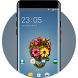 Theme for Nokia X+ Dual SIM Sugar Skull Wallpaper by Theme Launcher i2017