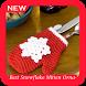 Best Snowflake Mitten Ornament by Kurama Studio
