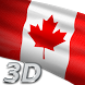 Canada Flag Live Wallpaper 3D by Mummy Apps