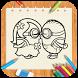 Draw cartoon MDM by Jack Reacher