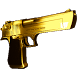 Desert Eagle Gold by GPR Apps
