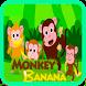 Monkey Banana Song Videos by Srikandi Inc