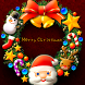 Xmas*Santa*Wreath LWP by Rooty Pict